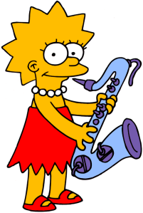 Lisa on Baritone Saxophone