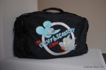 Itchy & Scratchy bag that has hidden straps that convert the bag to a backpack