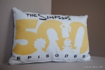 500th Episode Throw Pillow (swiped from the 500th Episode Celebration)